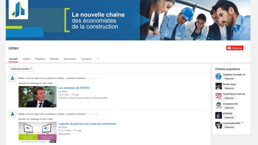CHAINE UNTEC YOUTUBE